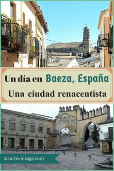 Are you looking for interesting options to visit near Granada? Why not take a day trip to Baeza? Keep reading to know a little more about this city. Travel Around Europe, Europe Travel Guide, Spain Travel, Travel Around The World, Travel Destinations, Travelling Europe, One Day Trip, Day Trips, Travel Inspiration