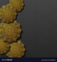 Background with traditional floral ornament vector image on VectorStock Aqua Wallpaper, Framed Wallpaper, Phone Wallpaper Images, Watercolor Wallpaper, Islamic Wallpaper, Luxury Background, Background Design Vector, Background Vintage, Metal Background