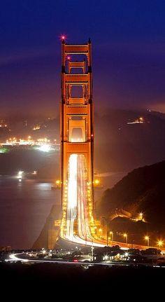 Golden Gate Bridge ~ San Francisco, California | Flickr - Photo by Rob Kroenert