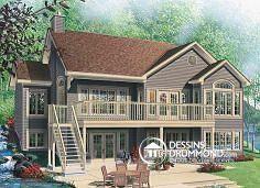 Plan de maison no. W6916 de dessinsdrummond.com
