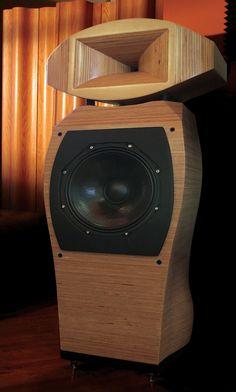 Loiminchay Audio Kandinsky - CNC-machined from a single block of wood