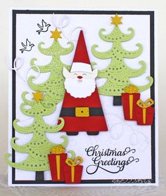 Beyond beauty christmas greetings with cheery lynn designs a new card using more cheery lynn designs die cuts getting ready for the holiday season tfl m4hsunfo