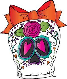 Melonheadz Illustrating Sugar Skull Freebie 2015