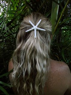 Great for Weddings!!! Bridesmaid  Bride add this in their hair for a Beach Wedding is perfect! Handmade starfish hair clips customized to by Palmbeachcreations, $6.00