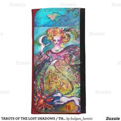 TAROTS OF THE LOST SHADOWS / THE MOON LADY WALLET