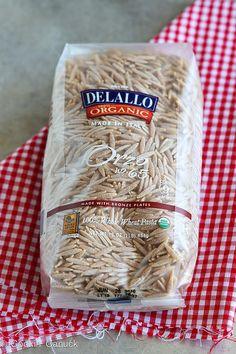 Shrimp & Artichoke Whole Wheat Pasta Salad Recipe | cookincanuck.com #recipe #pasta by CookinCanuck, via Flickr