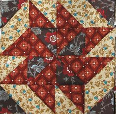 Catch Me If You Can Blocks: great to use with Civil War reproduction fabrics