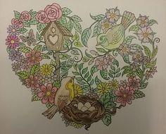 ColorIt Blissful Scenes Colorist: Cindy Turner Uselton #adultcoloring #coloringforadults