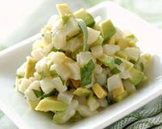 Tartare de Saint Jacques et avocat au citron vert (facile, rapide) - Une recette CuisineAZ