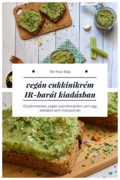 vegán cukkinikrém, avagy a könnyed, mentes szendvicskrém #thepuur #szendvicskrém #mindenmentes #vegan #reggeli #inzulinrezisztencia #diéta