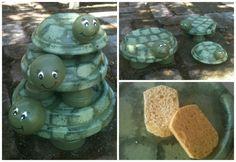 DIY - Terra Cotta Turtles
