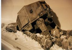 Art-of-Star-Wars-Exhibit-1995-Original-Prop-Blog-ATAT-1.jpg 860×594 pixels