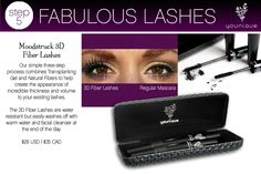 Our 3D mascara is one of a kind! All natural based it will increase your lash length by 300x and amp up the volume! People will think you wear false lashes or get extensions, but you'll know the truth!