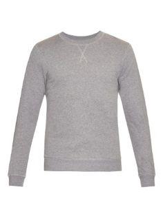 Crew-neck cotton sweatshirt | Sunspel | MATCHESFASHION.COM UK