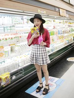 Dress Up Confidence! Global Young Girls Trendy Style Maker 66girls.us Top-Stitched Check Print Skort (DHDL) #66girls #kstyle #kfashion #koreanfashion #girlsfashion #teenagegirls #fashionablegirls #dailyoutfit #trendylook #globalshopping