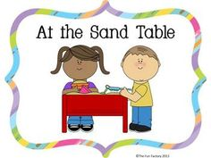 "Sand and Water ""Sensory"" Table Task Cards and More, CC Aligned"