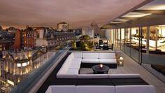 ME London rooftop bar
