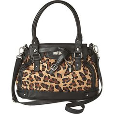 Plain Jane, Leopard Satchel (77 BRL) ❤ liked on Polyvore featuring bags, handbags, carteras, purses, women, man satchel bag, nine west handbags, nine west bags, nine west purses and nine west satchel