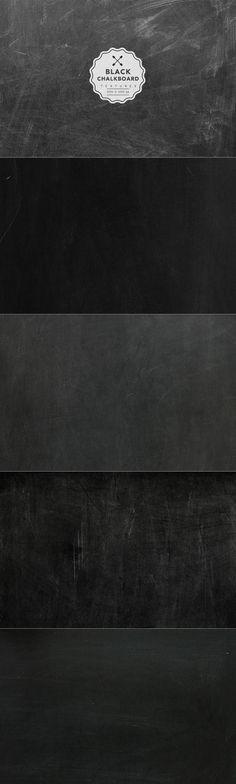 extremely useful texture!  black-chalkboard-texture-set