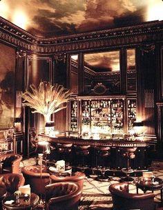Speakeasy Style Cigar Lounge ...pretty classy, I'd say