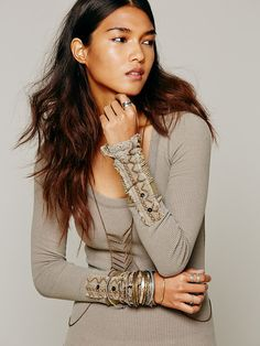 Free People Free People We The Free Kyoto Cuff Thermal, if I didn't live in Florida I would so buy this for winter!