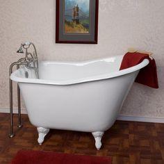 Fantastisch Freistehende Gusseiserne Badewanne   Badezimmermöbel