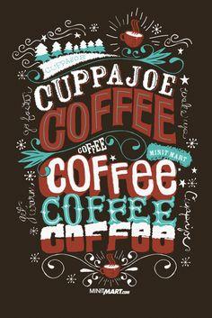 Cuppajoe Coffee - I love typography