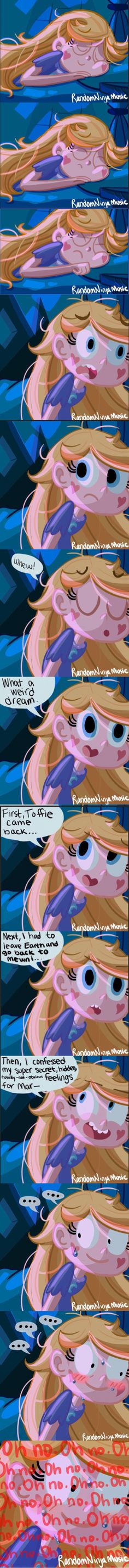 Yeah it wasn't a dream....   Star vs the Forces of Evil 