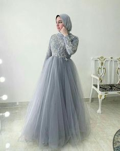 Hijab Prom Dress, Muslimah Wedding Dress, Hijab Evening Dress, Hijab Wedding Dresses, Bridal Dresses, Evening Dresses, Dress Muslimah, Tea Length Bridesmaid Dresses, Prom Dresses Long With Sleeves