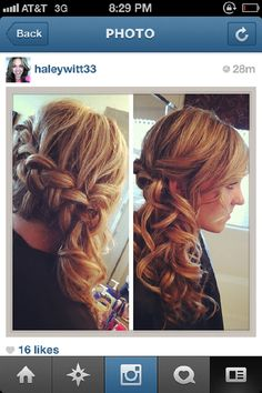This makes me want to grow my hair out!