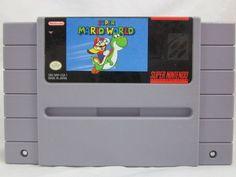 Super Mario World SNES Super Nintendo Game 045496830014 | eBay