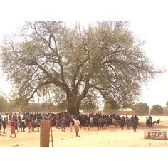 A school in The Gambia