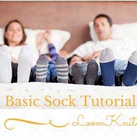 Loom Knitting with Isela : Socks, Leg Warmers, Foot Coverings