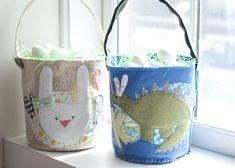 DIY | Easter Baskets (via @jen Lula-Richardson)