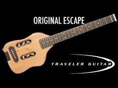 Traveler Guitar Escape Steel-String Acoustic-Electric Travel Guitar #travelguitar