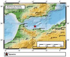 Terremoto sentido Andalucía y Melilla 11 marzo