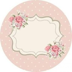 E-Mail – brigitte schmidt – Outlook Vintage Diy, Vintage Labels, Diy And Crafts, Arts And Crafts, Paper Crafts, Printable Labels, Printables, Floral Border, Scrapbook Paper