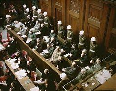 """# """"Julgamentos de Nuremberg"""".  Prisioneiros do III Reich."""