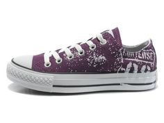 Converse All Star Girls Black 50th Anniversary edition Low Top Canvas Shoes