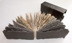Night to Day to Night coptic-bound artist book by Catherine Nash