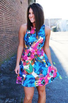 Forever Floral Dress