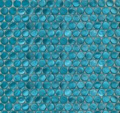 Interglass Penny Round Aqua