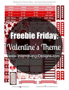 Free Valentine Planner Stickers