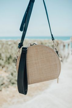 Woven Circle Bag
