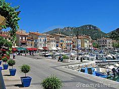 Cassis, France.