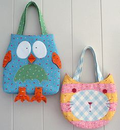 cat and owl bag ,to fall in love with