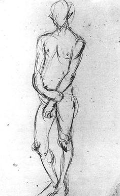 Johannes Itten's preliminary course 1919 37.5x24.5 cm Private collection