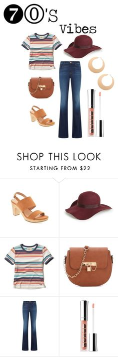 """""""70s"""" by ohm-dana on Polyvore featuring Topshop, Hollister Co. and J Brand"""