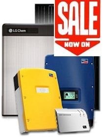 All in One Solar Battery package.6.5kW