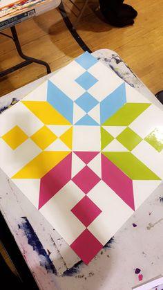 Barn Quilt Designs, Barn Quilt Patterns, Quilting Designs, Blue Quilts, Small Quilts, Mini Quilts, Painted Barn Quilts, Barn Signs, Single Quilt